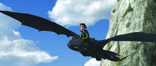 Cómo entrenar a tu dragón imagen 7