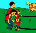 Dibujo Zoo pintado por fabiola