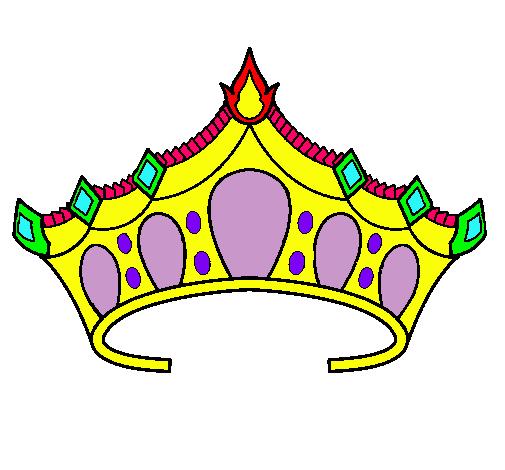 Dibujo de Tiara pintado por Corona en Dibujosnet el da 150810