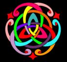 Dibujo Mandala 39 pintado por pilipon