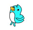 Dibujo Dibu el pollito pintado por tierno