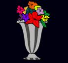 Dibujo Jarrón de flores pintado por PAQUI