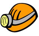 Dibujo Casco de minero pintado por amadorrojas