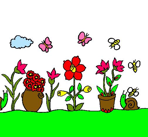Dibujo de jard n pintado por ivan en el d a 13 for Jardin dibujo