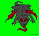 Dibujo Lagarto mutante pintado por alan