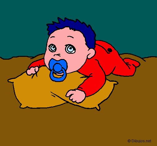 Worksheet. Dibujo de Bebe jugando pintado por Maxianime en Dibujosnet el