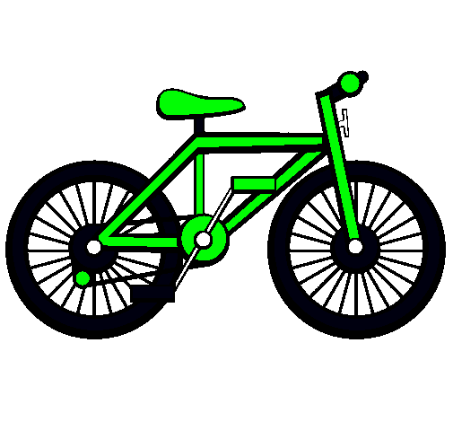 Dibujo de Bicicleta pintado por Bike en Dibujos.net el día 17-08 ...