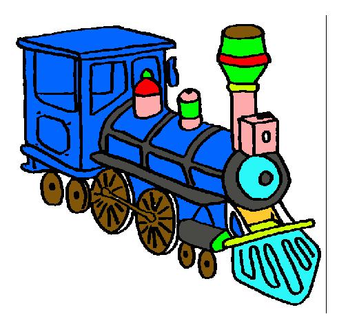 Dibujo de Tren pintado por Dinotren en Dibujosnet el da 230810