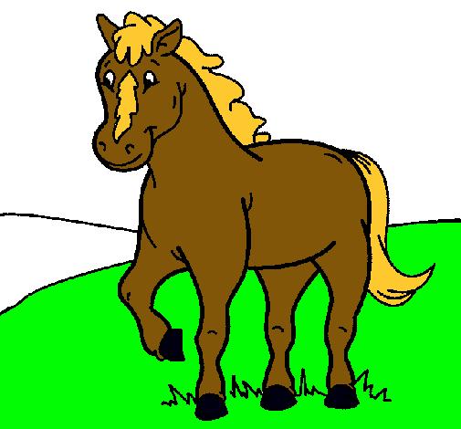 Dibujo de Caballo pintado por Yegua en Dibujosnet el da 280810