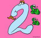 Dibujo Dos pintado por Numero2