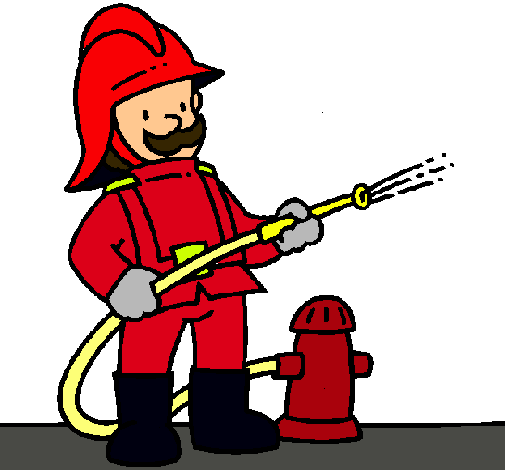Worksheet. Dibujo de Bombero pintado por Gilllll en Dibujosnet el da 2308