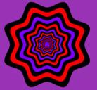 Dibujo Mandala 46 pintado por shakira