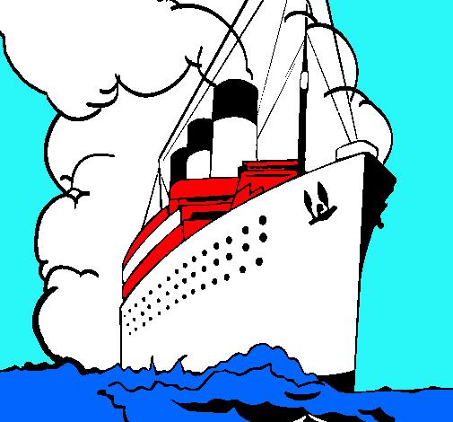 El titanic para dibujar - Imagui
