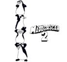 Dibujo Madagascar 2 Pingüinos pintado por anakarengalvanaviles