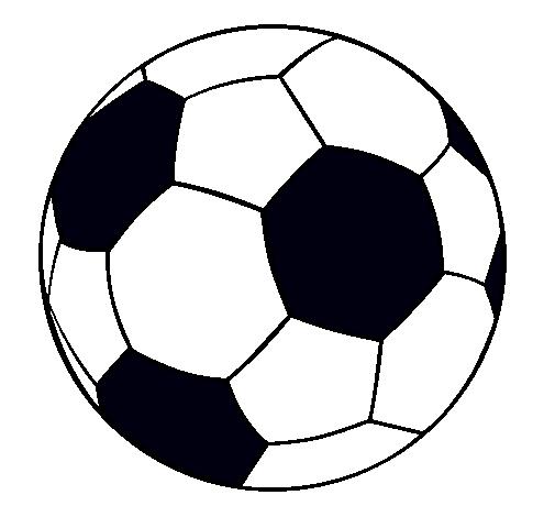 Dibujo de Pelota de fútbol II pintado por Alberto en Dibujos.net ...