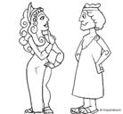 Dibujo Griegos pintado por jllulkfgrdgh