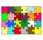 Dibujo Puzle pintado por puzzle