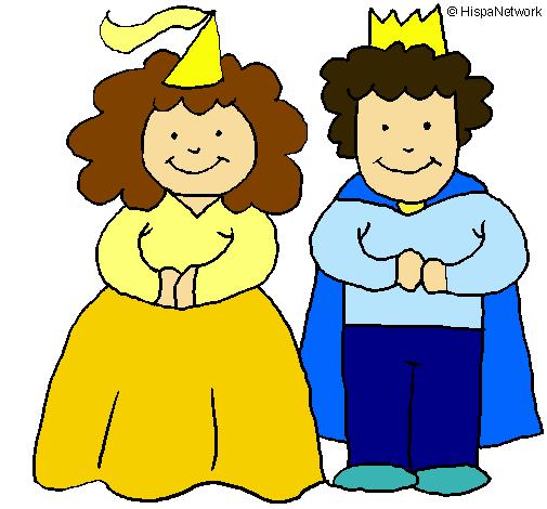 Princesa y rey