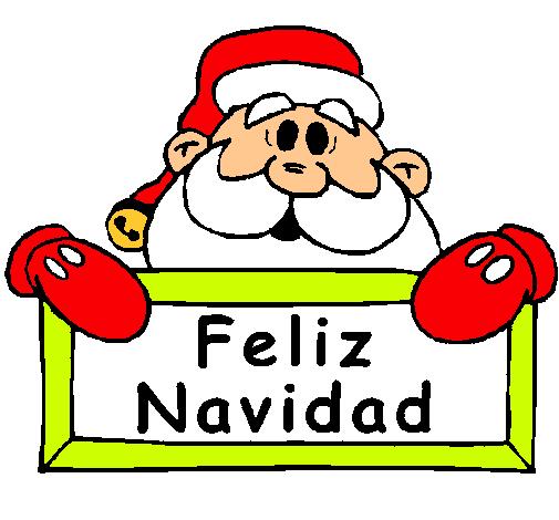 Dibujo de feliz navidad pintado por malteada en dibujos - Dibujos de navidad en color ...