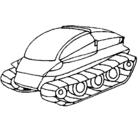 Dibujo Nave tanque pintado por nicolascancio
