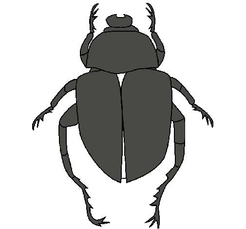 Dibujo de Escarabajo pintado por Marta en Dibujos.net el día 03-10 ...