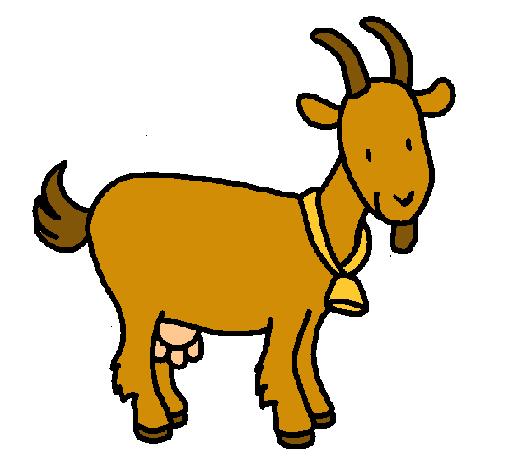 Dibujo de Cabra pintado por Chivo en Dibujos.net el día 29 ...