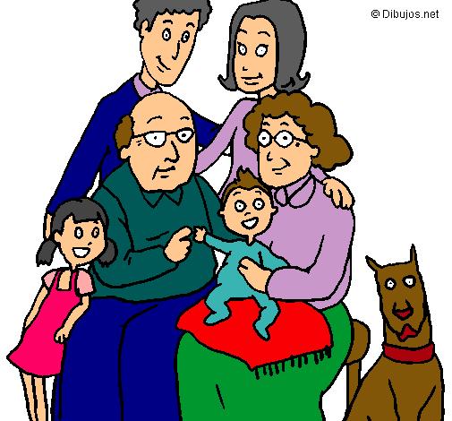 Imagenes dibujos familias  Imagui