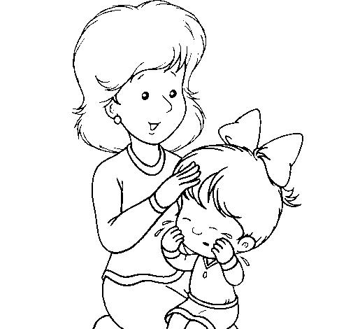 Dibujo de Madre pintado por Mama en Dibujosnet el da 061010 a