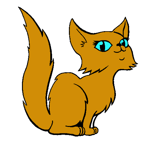 Gatos dibujos pintados - Dibujos de gatos pintados ...