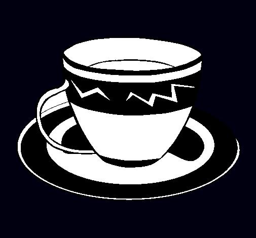 Dibujo de Taza de café pintado por Gaseosa en Dibujos.net el día ...
