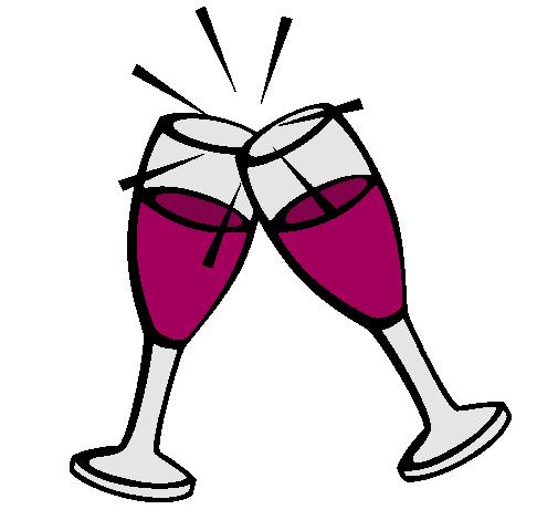 dibujo de champ u00e1n pintado por copas en dibujos net el d u00eda champagne bottle clip art free champagne bottle clip art free