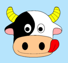 Dibujo Vaca pintado por Vaquita