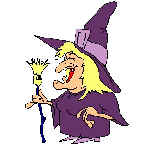 Dibujo de Bruja pintado por Regina en Dibujosnet el da 211010
