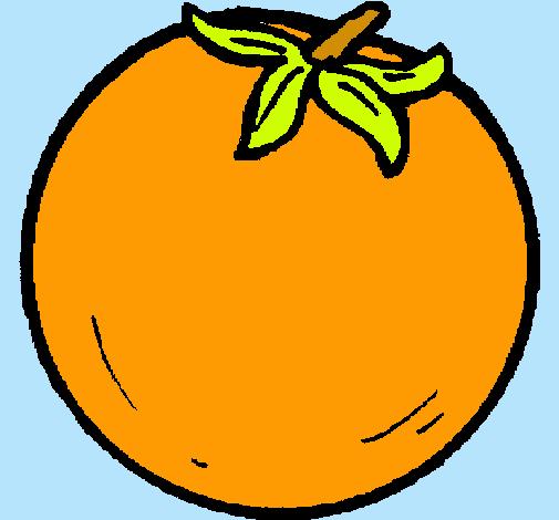 Dibujo de naranjas pintado por Alessandro en Dibujosnet el da 24