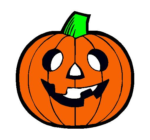 Dibujos de calabazas a color imagui for Calabaza halloween dibujo