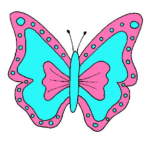 Dibujo de Mariposa pintado por Damaris en Dibujosnet el da 2310
