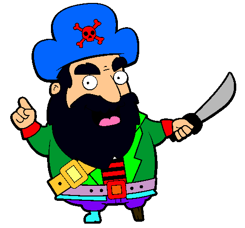 Dibujo de Pirata pintado por Piratas en Dibujos.net el día 27-10 ...