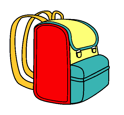 Resultado de imagen para mochila dibujo png