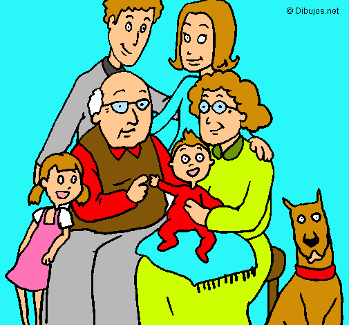 Dibujo de Familia pintado por Mi familia en Dibujos.net el día 30 ...