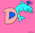 Dibujo Delfín pintado por pololawell