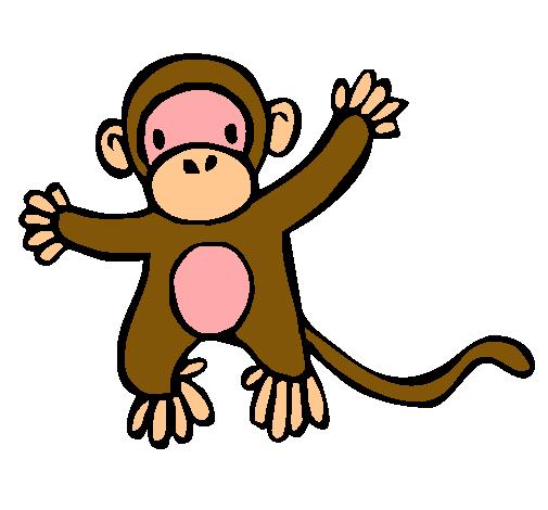 Dibujo de Mono pintado por Changuito en Dibujos.net el día 31-10 ...