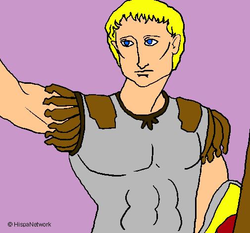Escultura del César