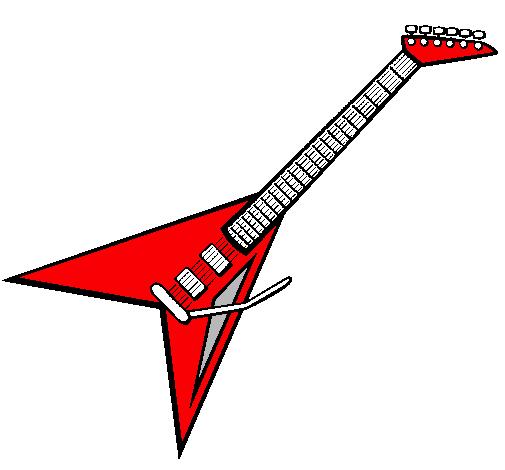 Dibujo de Guitarra elctrica II pintado por Evanllelin en Dibujos
