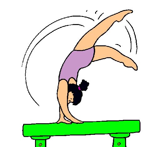 Dibujos haciendo gimnasia - Imagui