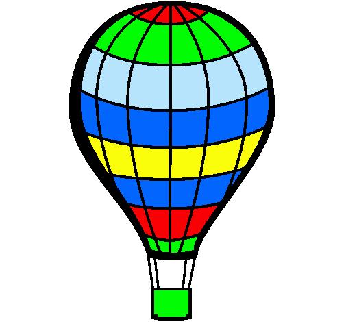 Worksheet. Dibujo de Globo aerosttico pintado por Nahu en Dibujosnet el da