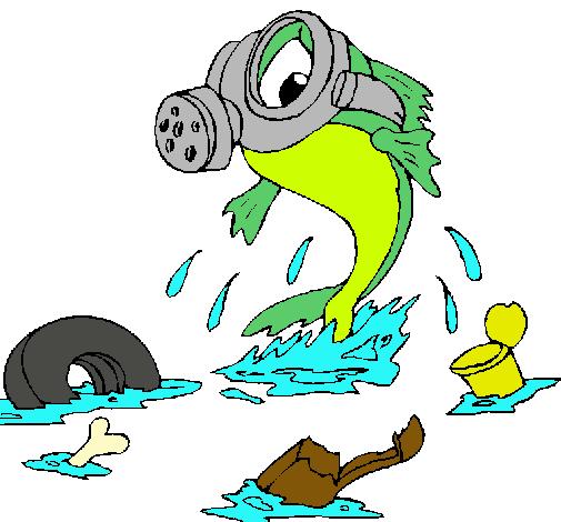 Dibujo de Contaminación marina pintado por Stephanie en Dibujos ...