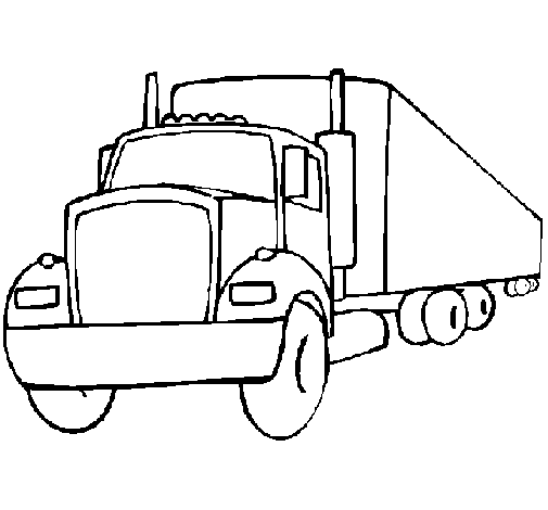 dibujo de tr u00e1iler pintado por camiones en dibujos net el d u00eda 15