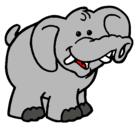 Dibujo Elefante pintado por nayeli