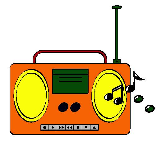 Dibujo de Radio cassette 2 pintado por Aury en Dibujos.net el día ...