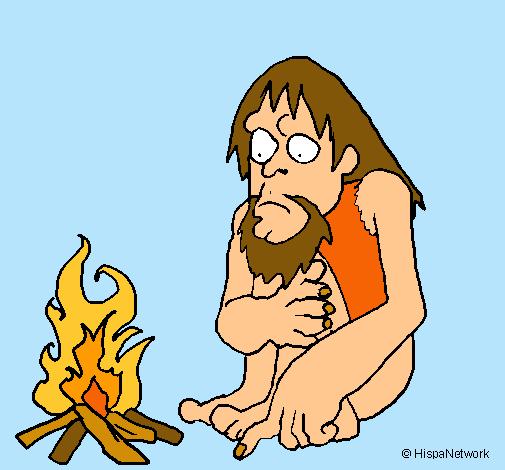 Dibujo de Descubrimiento del fuego pintado por Marianar en Dibujos